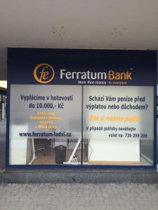 pobočka Ferratum Bank