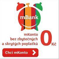 mbank mkonto nejvýhodnější účet