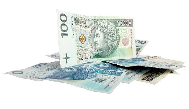 Několik bankovek vysoké hodnoty