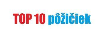 SK nápis top 10 požičiek
