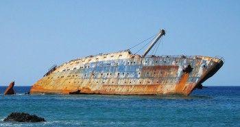 Ztroskotaná tankerová loď