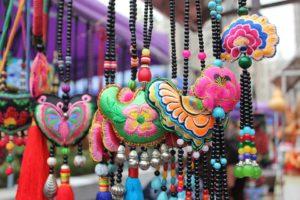 symboly Čínské tržnice